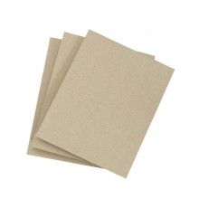 Three pieces of thin chipboard