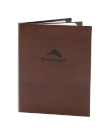 Bonded Leather Menu Covers